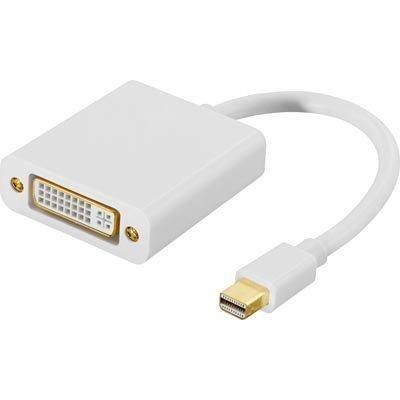 Mini DisplayPort - DVI-D Single Link sovitin u - n 0 05m valk