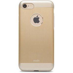 Moshi Iglaze Armour Kuori Matkapuhelimelle Iphone 7 Satin Gold