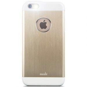 Moshi Iglaze Armour Takakansi Matkapuhelimelle Iphone 6/6s Kulta