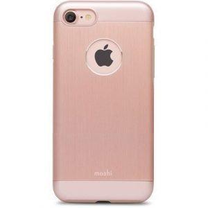 Moshi Iglaze Armour Takakansi Matkapuhelimelle Iphone 7 Ruusun Kulta