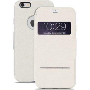 Moshi Sensecover Läppäkansi Matkapuhelimelle Iphone 6/6s Beige