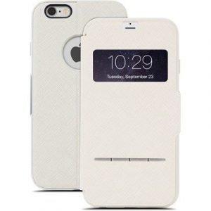 Moshi Sensecover Touch Sensitive Läppäkansi Matkapuhelimelle Iphone 6 Plus/6s Plus Beige