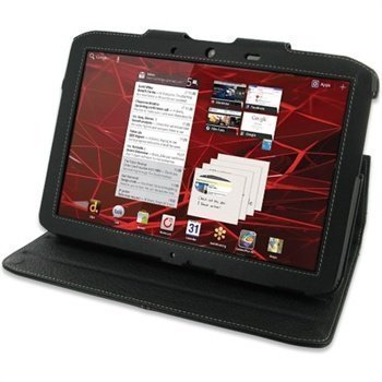 Motorola XOOM 2 MZ616 PDair Leather Case 3BMOM2BX2 Musta
