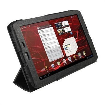 Motorola XOOM 2 Media Edition 3G MZ608 iGadgitz PU Leather Case Black