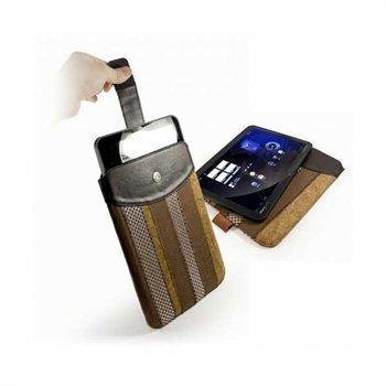 Motorola XOOM MZ600 Tuff-Luv Marrakesh Case Brown