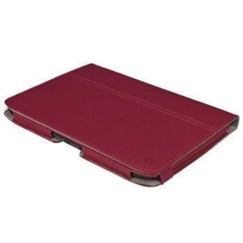 Motorola Xoom 2 Igadgitz Nahkainen Kotelo Vaaleanpunainen