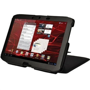 Motorola Xoom 2 iGadgitz Guardian Leather Case Black