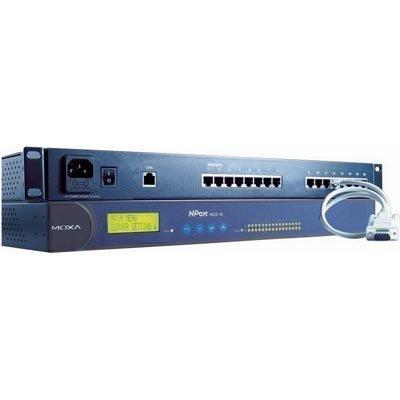 "Moxa NPort 5610 sarjaporttipalvelin 8 porttia RS-232 19 1U"""