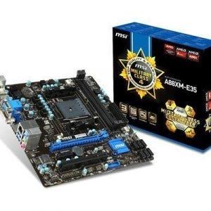 Msi A88xm-e35 Socket Fm2+ Mikro Atx