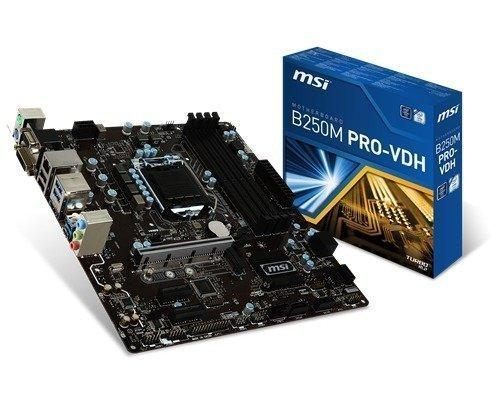 Msi B250m Pro-vdh S-1151 Mikro Atx