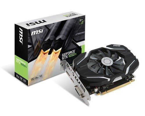 Msi Geforce Gtx 1050 Ti Oc 4gb