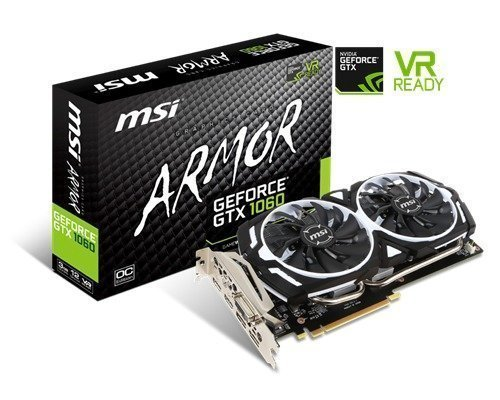 Msi Geforce Gtx 1060 Armor Ocv1 3gb