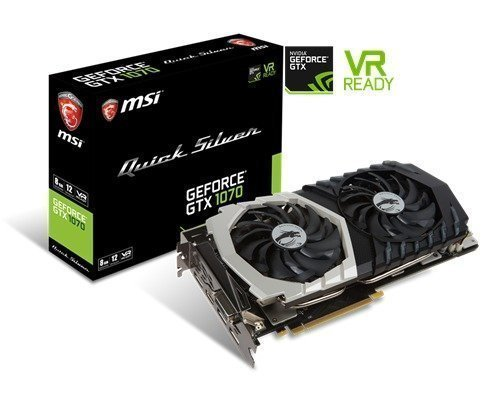 Msi Geforce Gtx 1070 Quick Silver 8gb Oc