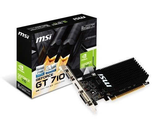 Msi Gt 710 Silent Low Profile 2gb