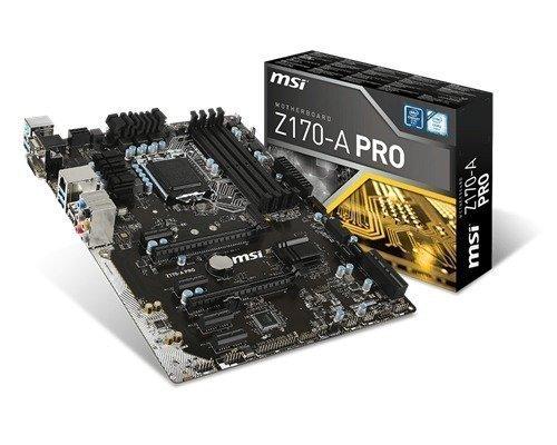 Msi Z170-a Pro Lga1151 Socket Atx