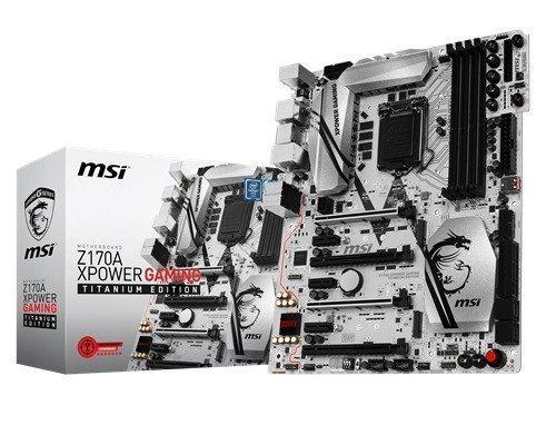 Msi Z170a Xpower Gaming Titanium Ed S-1151 Atx