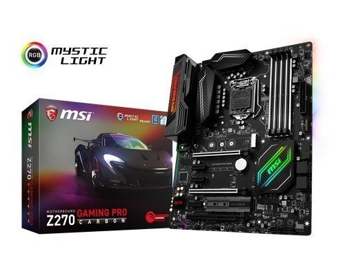 Msi Z270 Gaming Pro Carbon Lga1151 Socket Atx