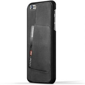 Mujjo 80 Leather Wallet Case Iphone 6 Plus Iphone 6s Plus Musta