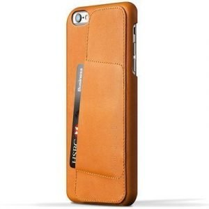 Mujjo 80 Leather Wallet Case Iphone 6 Plus/6s Plus Ruskea