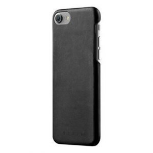 Mujjo Leather Case Iphone 7 Musta