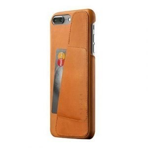 Mujjo Leather Wallet Case Iphone 7 Plus Ruskea