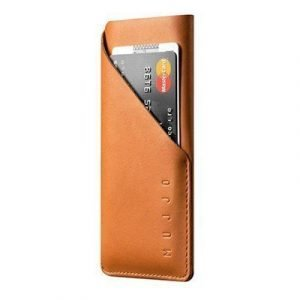 Mujjo Leather Wallet Sleeve Iphone 7 Ruskea