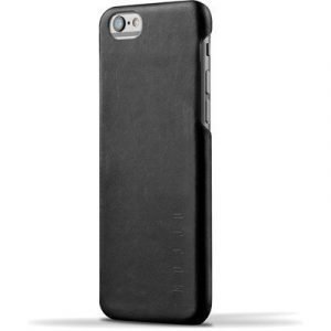 Mujjo Mujjo Leather Case Iphone 6s Plus Black Iphone 6/6s Plus Musta