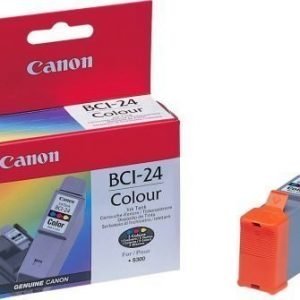 Mustepatruuna alkup. Canon BCI-24CL 3-väri