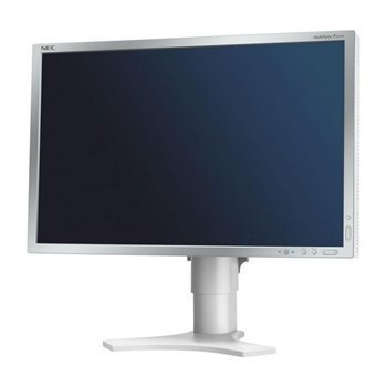 NEC Multisync LCD P221W Monitor 22 Silver / Light Grey
