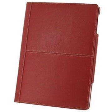 Nahkakotelo 3RIPD4BX2 iPad 2 iPad 3 iPad 4 Punainen