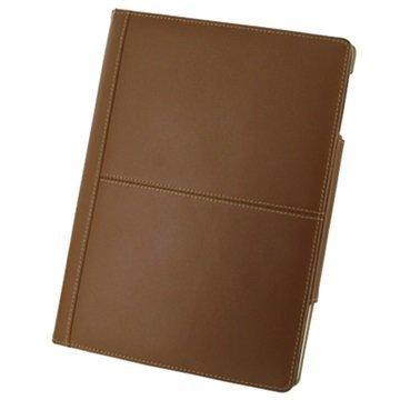 Nahkakotelo 3RIPD4BX2 iPad 2 iPad 3 iPad 4 Ruskea