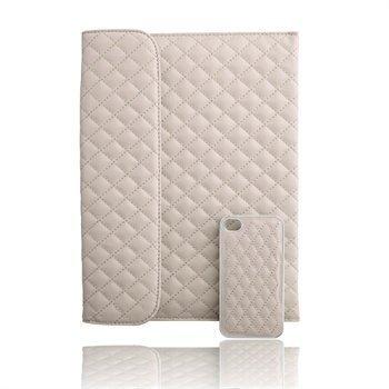 Naztech Paris Combo iPhone 4 / 4S Case & iPad 3 iPad 4 iPad 2 Cover Beige