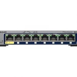 Netgear Prosafe Gs108tv2 8-port Gigabit Smart Switch
