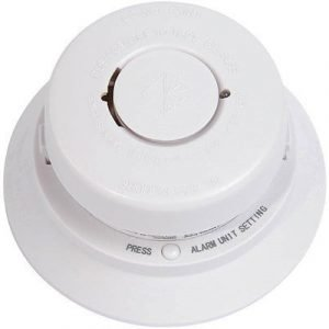 Nexa Fire Alarm Wireless Mts-166srf 868mhz 85db White