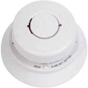 Nexa Fire Alarm Wireless Mts-166srf 868mhz 85db White
