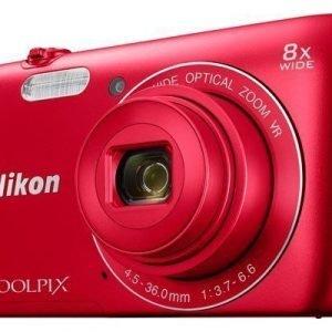 Nikon Coolpix A300 Punainen