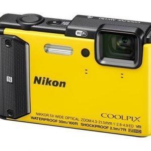 Nikon Coolpix Aw130 Keltainen