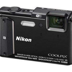 Nikon Coolpix Aw130 Musta