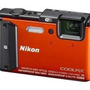 Nikon Coolpix Aw130 Oranssi