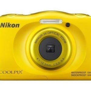 Nikon Coolpix W100 Keltainen