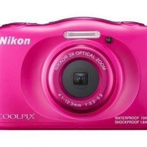 Nikon Coolpix W100 Pinkki
