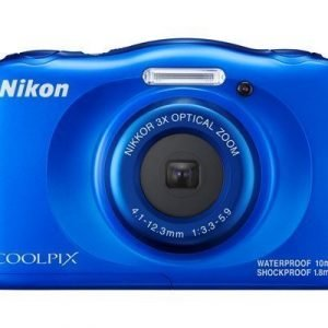 Nikon Coolpix W100 Sininen