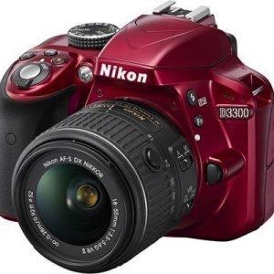 Nikon D3300 + Af-p Dx 18-55/3
