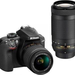 Nikon D3400 + Af-p Dx 18-55/3