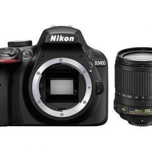 Nikon D3400 + Af-s 18-105/3