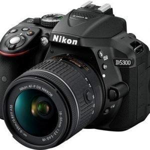 Nikon D5300 + Af-p Dx 18-55/3