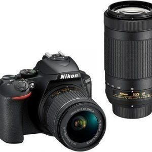 Nikon D5600 + Af-p Dx 18-55/3