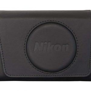 Nikon Nikon Coolpix S9900 Case (pu) Musta