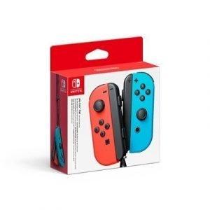 Nintendo Joy-con Pair Neon Red & Blue