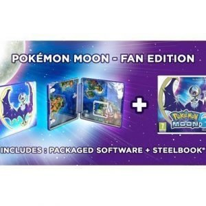 Nintendo Pokémon Moon 3ds Fan Edition